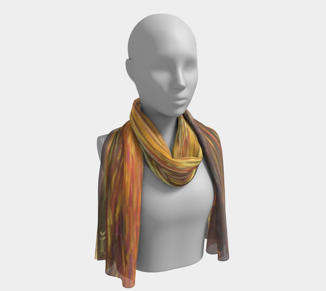 Aperçu de Sweet Sunset long scarf #1