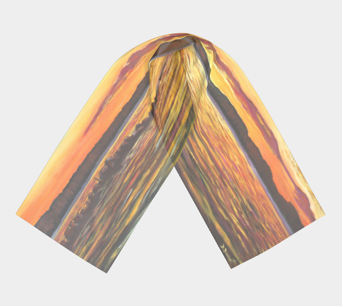 Aperçu de Sweet Sunset long scarf #3