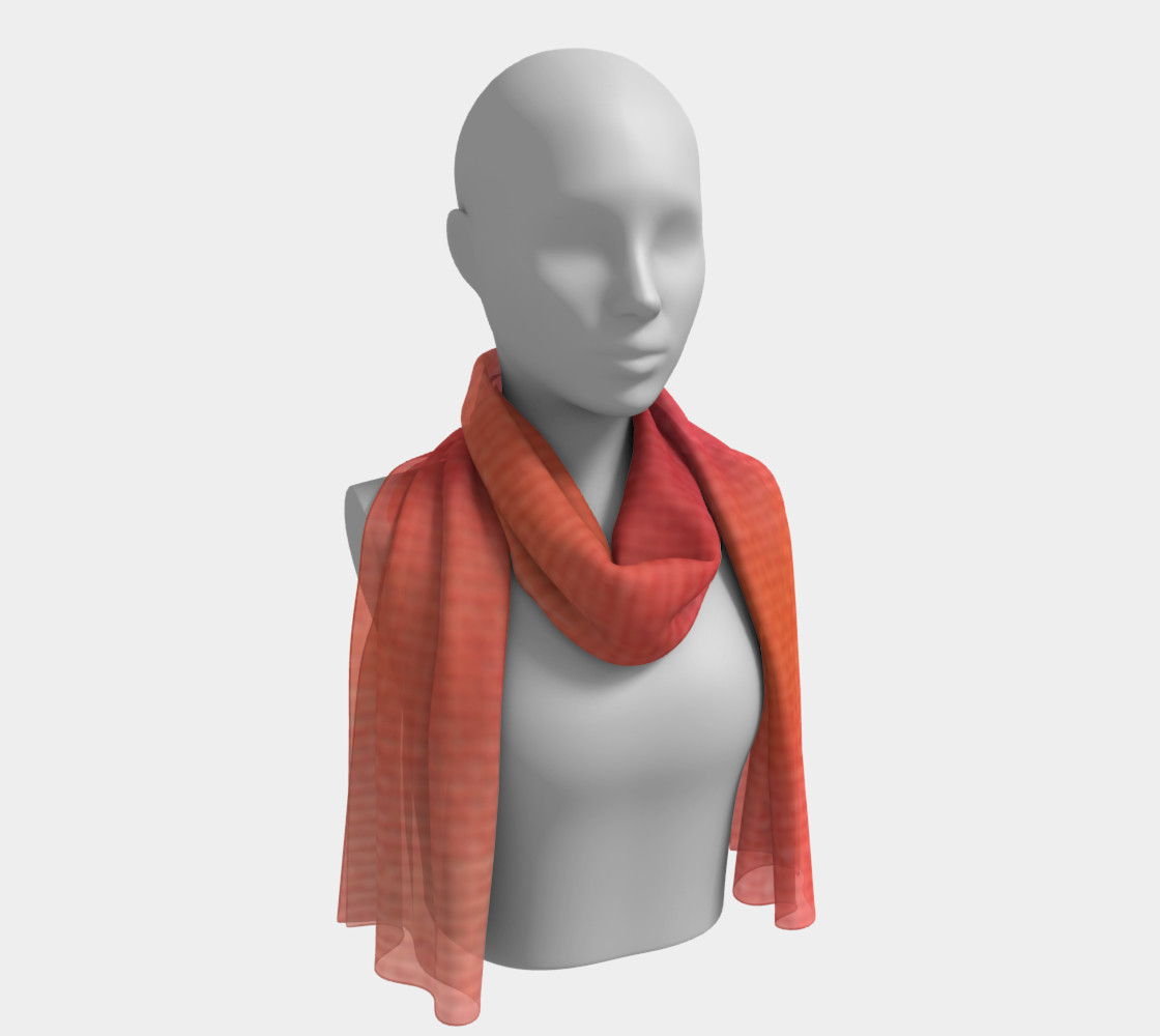 Poppy Song Long Scarf Miniature #2