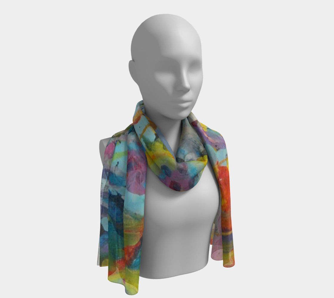 When Deserts Bloom B Long Scarf  preview #1