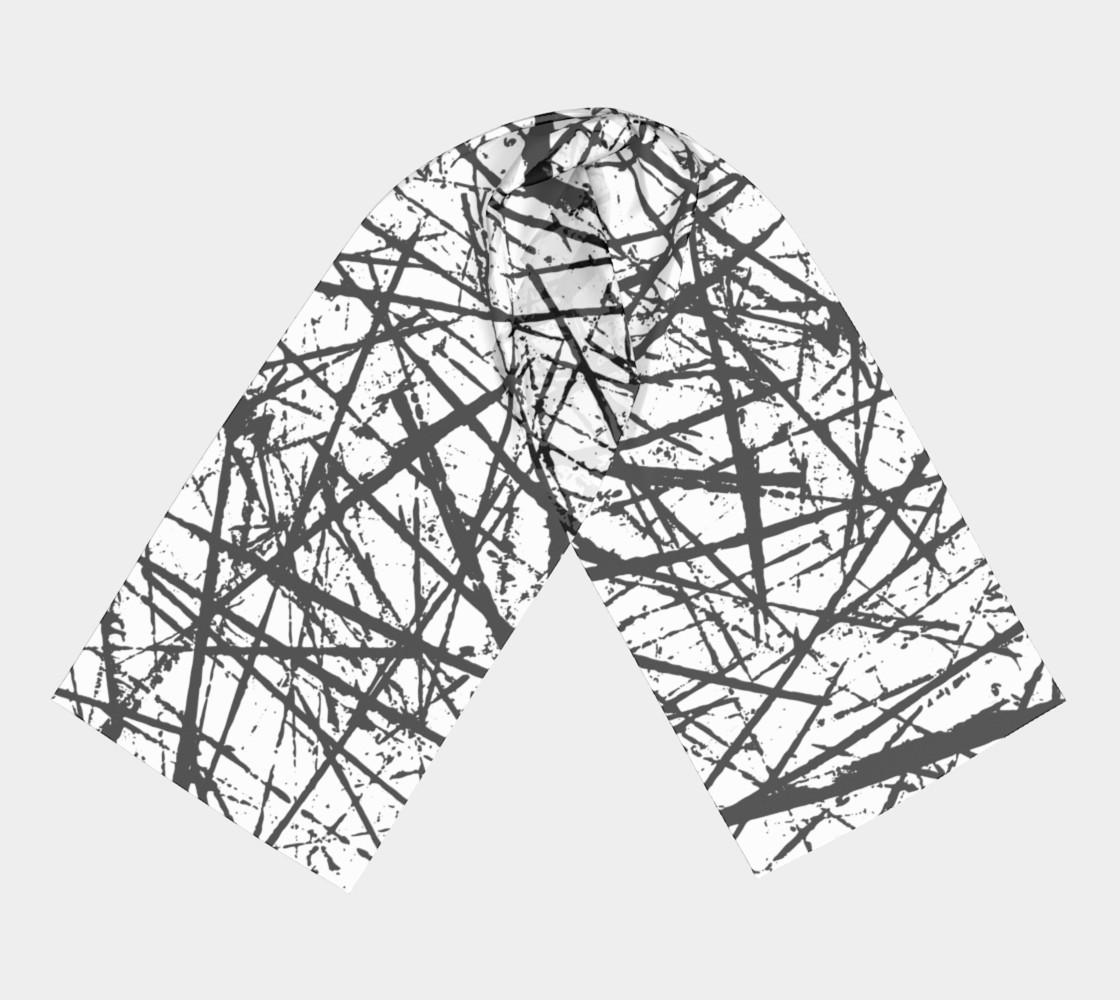 Aperçu de Grunge Chaos Long Scarf by GearX #3