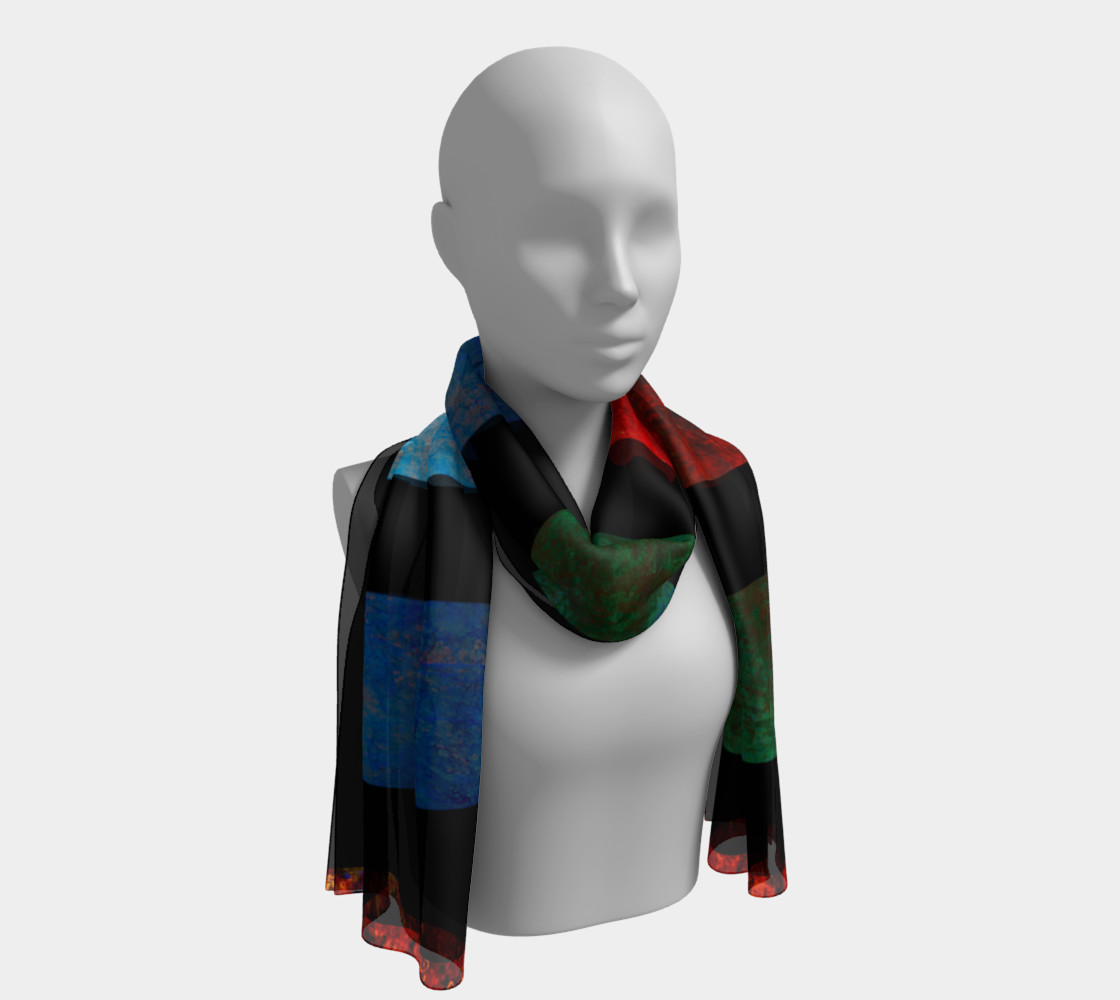 Color Bar Scarf preview #1
