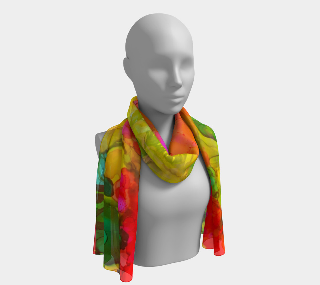 HollyHock High Long Scarf preview #1