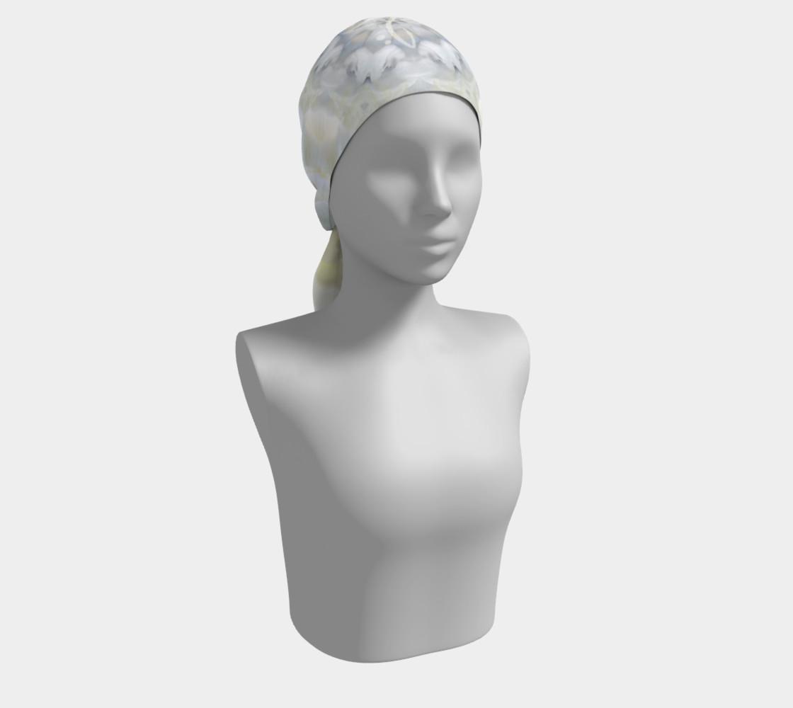 Gardenia Angel Long Silk scarf preview #2
