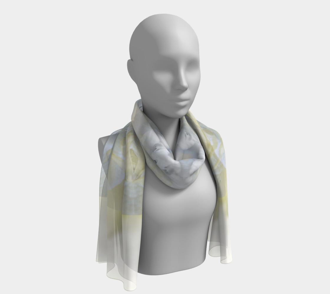 Gardenia Angel Long Silk scarf preview #1