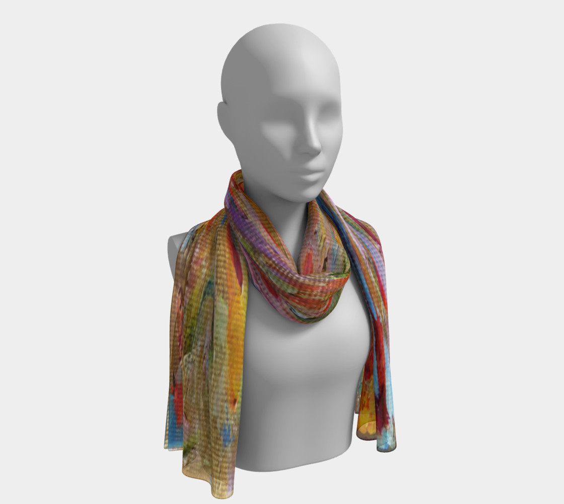 Convergent Thoughts Long Scarf  preview #1