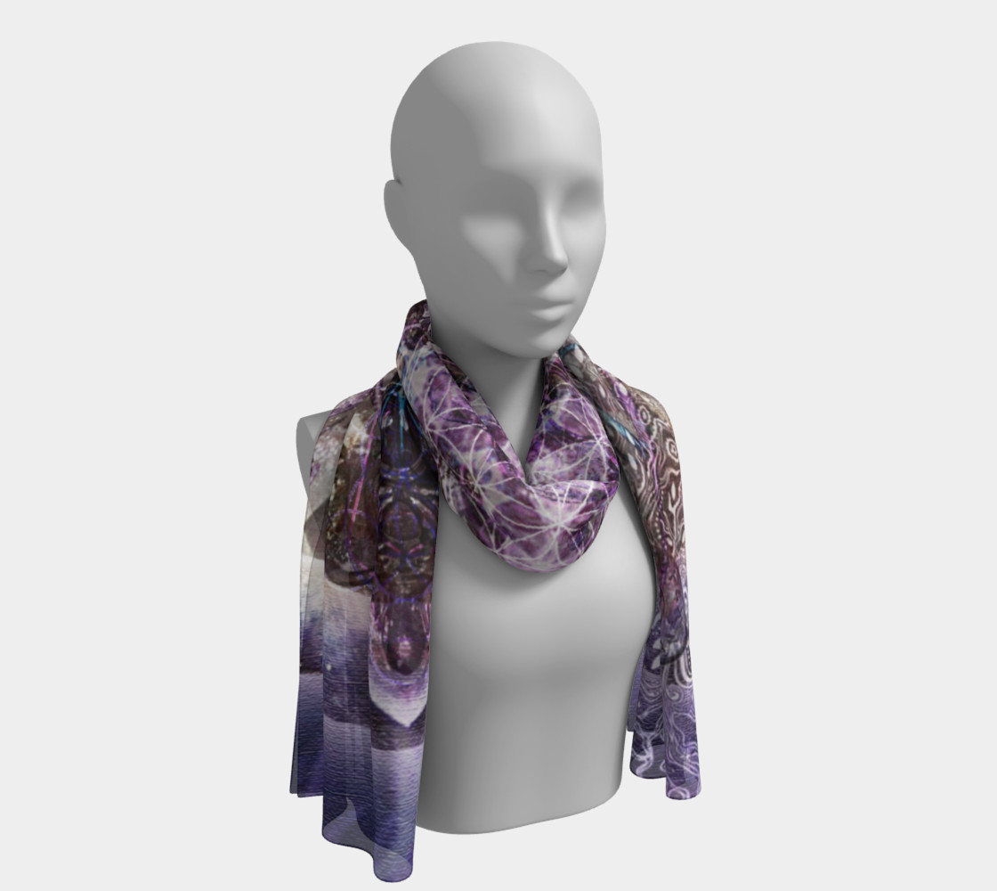 Unfoldment Long Silk Scarf preview #1