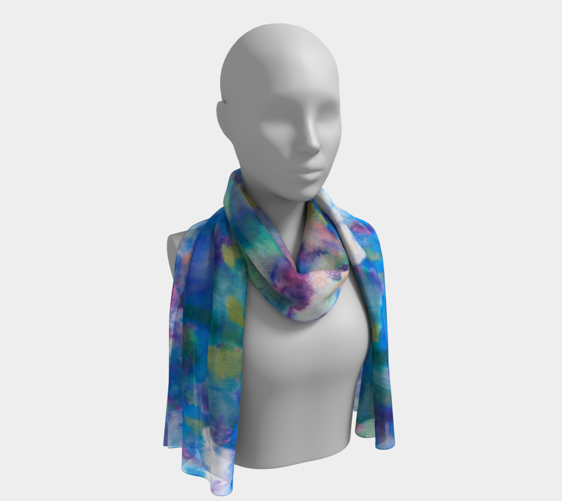Recognized Inspiration Long Scarf 3D preview