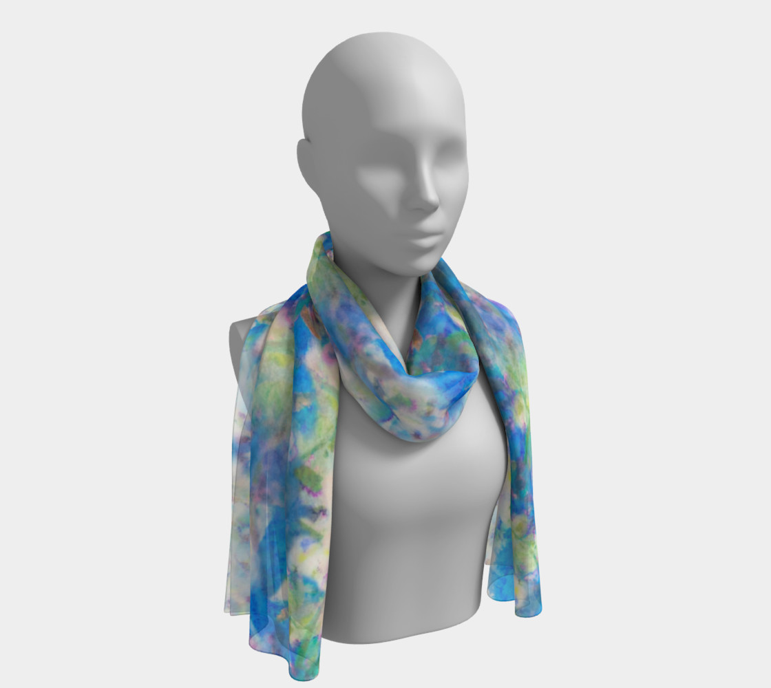 Flowering Apple Long Scarf preview #1