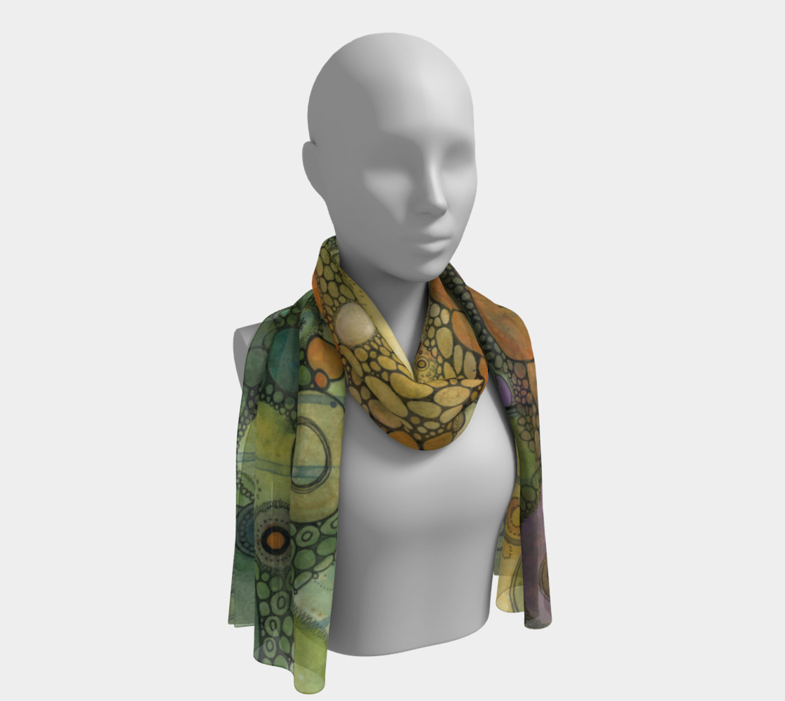 Adrift Doodle Scarf preview #1