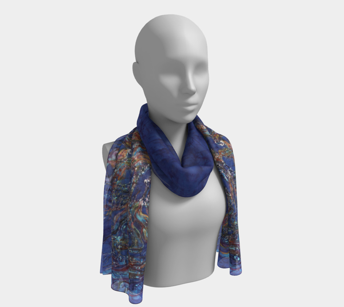Horses from the Sky Long Scarf preview #1