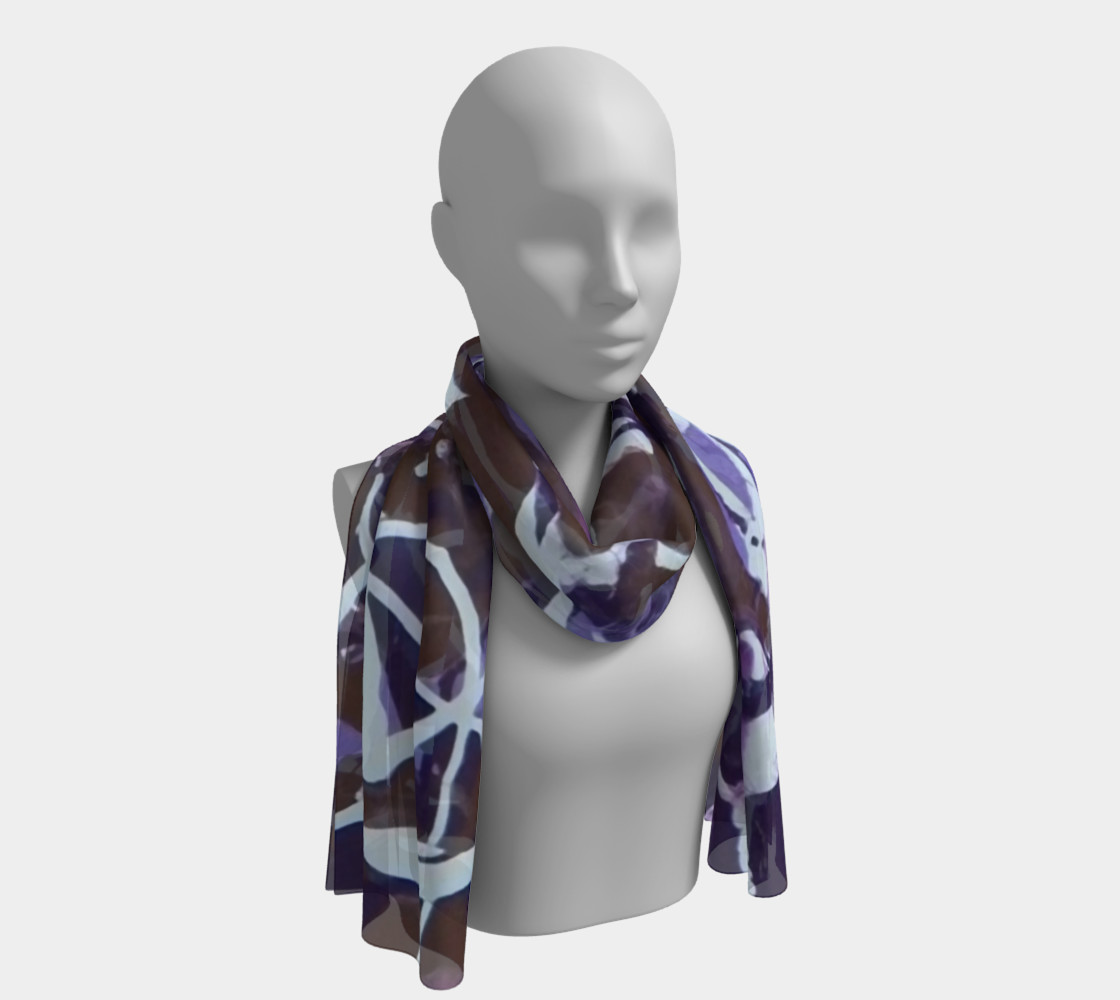 Dance of the Woodland Pixies Long Scarf preview #1