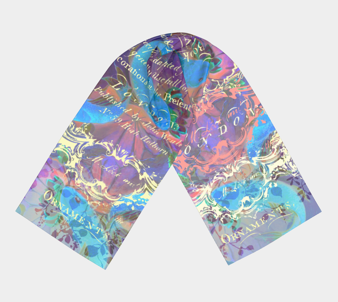 Midnight Koi Fantasy Long Scarf (16 preview #3