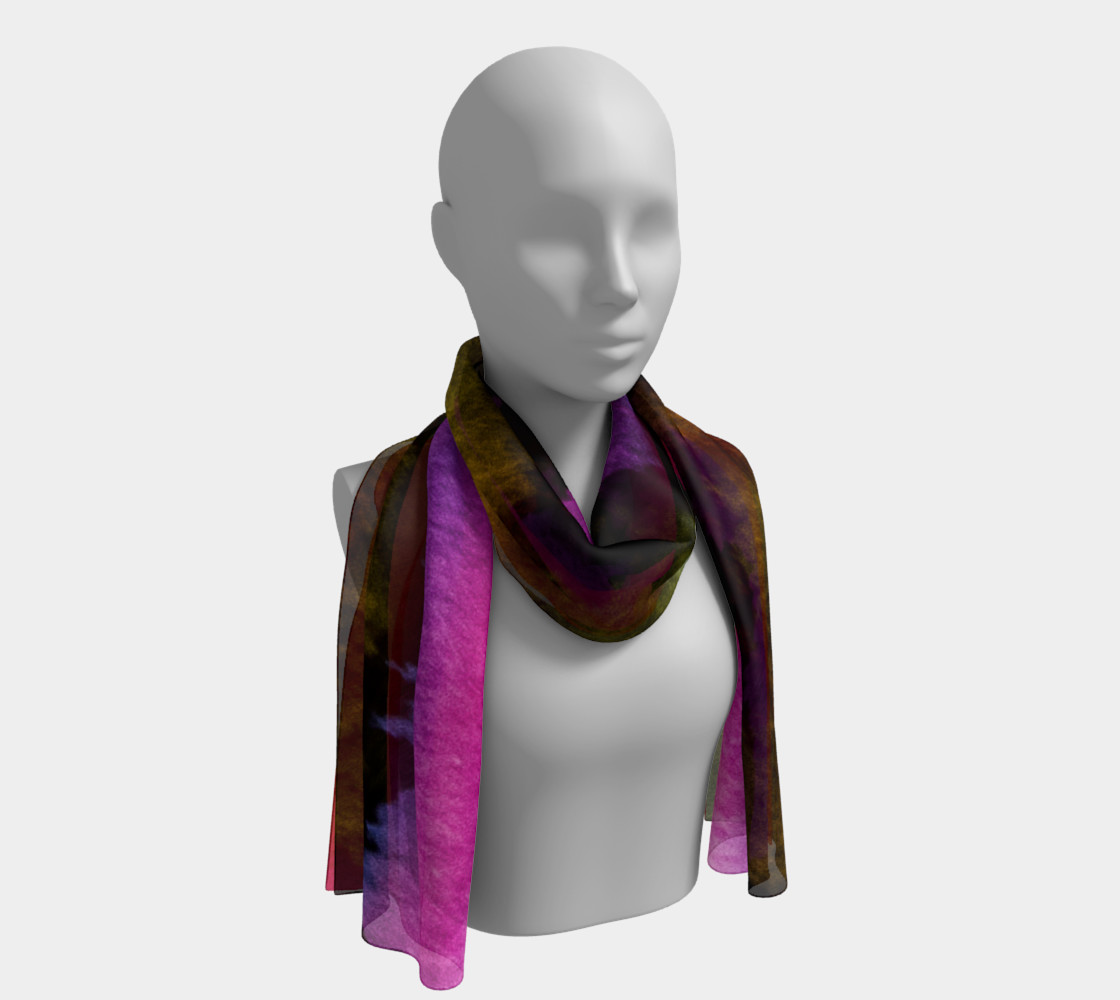 Dramatic Desert Sky Long Scarf preview #1