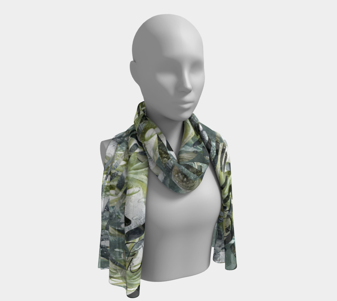 Playful Mariposa Dew Long Scarf preview #1