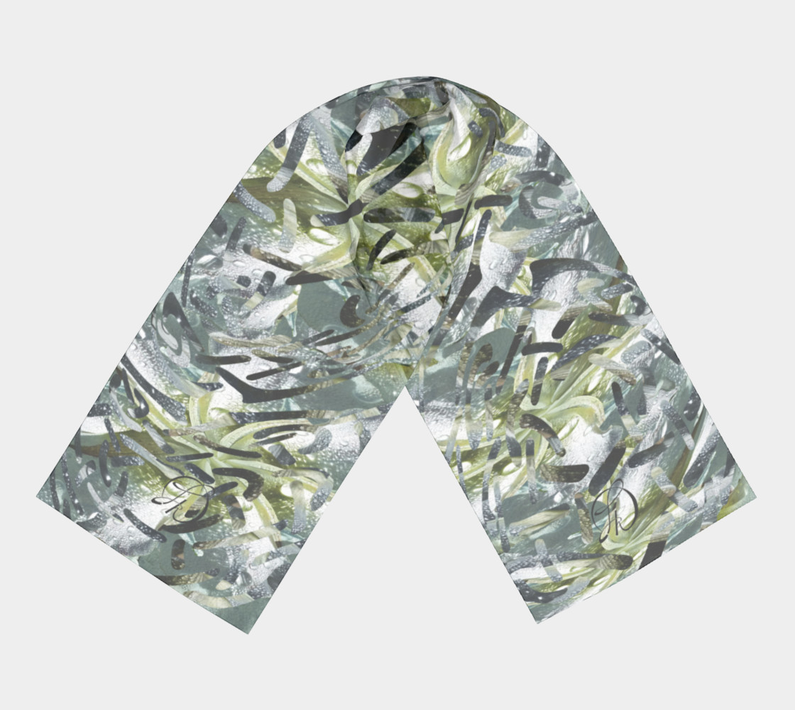 Playful Mariposa Dew Long Scarf preview #3