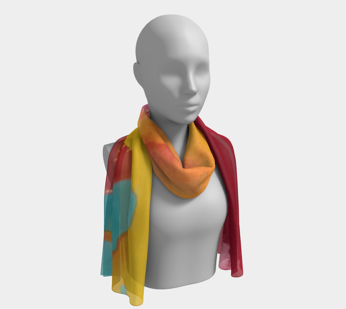 Arizona Flow long scarf 3D preview