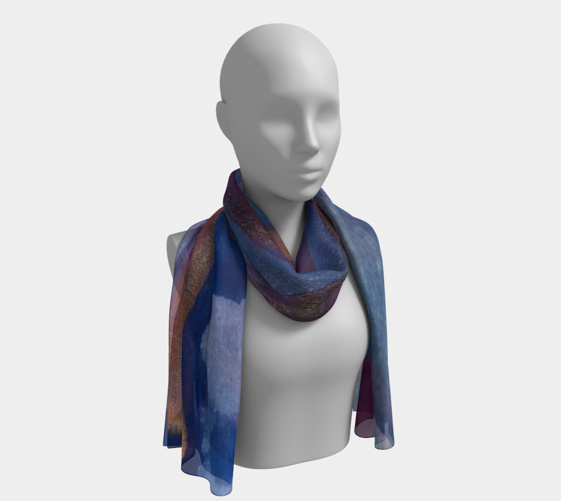 Transmutation 44 long scarf preview #1