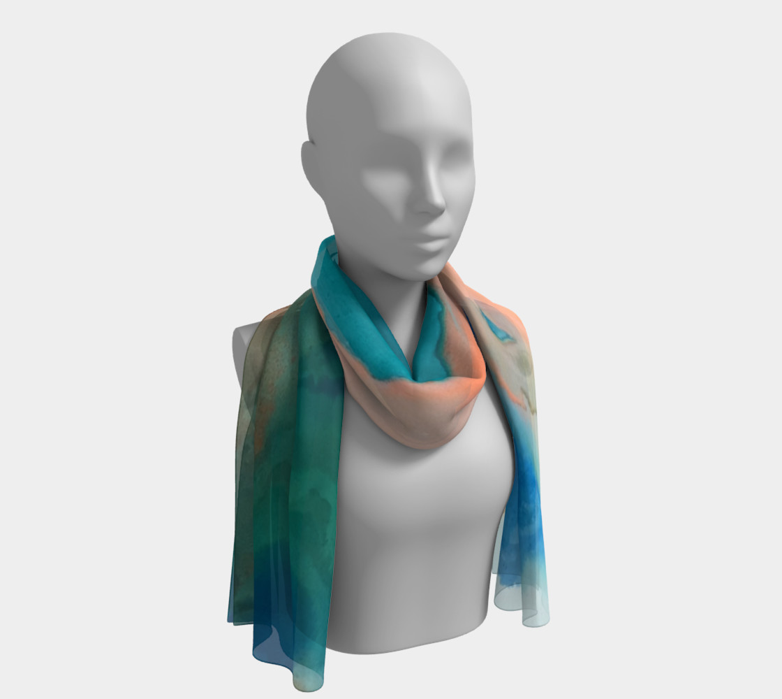Angel Tones long scarf preview #1