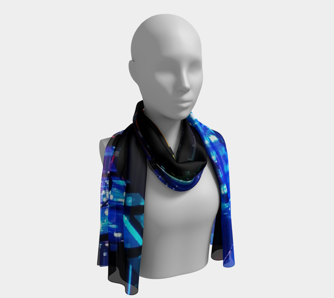 Blossom - The Search for Everything Long Scarf preview #1