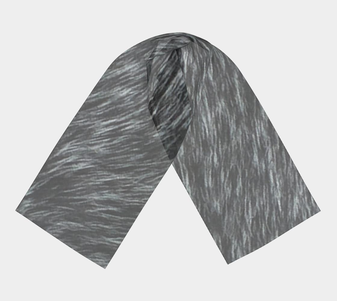 Blue Fur Long Scarf preview #3
