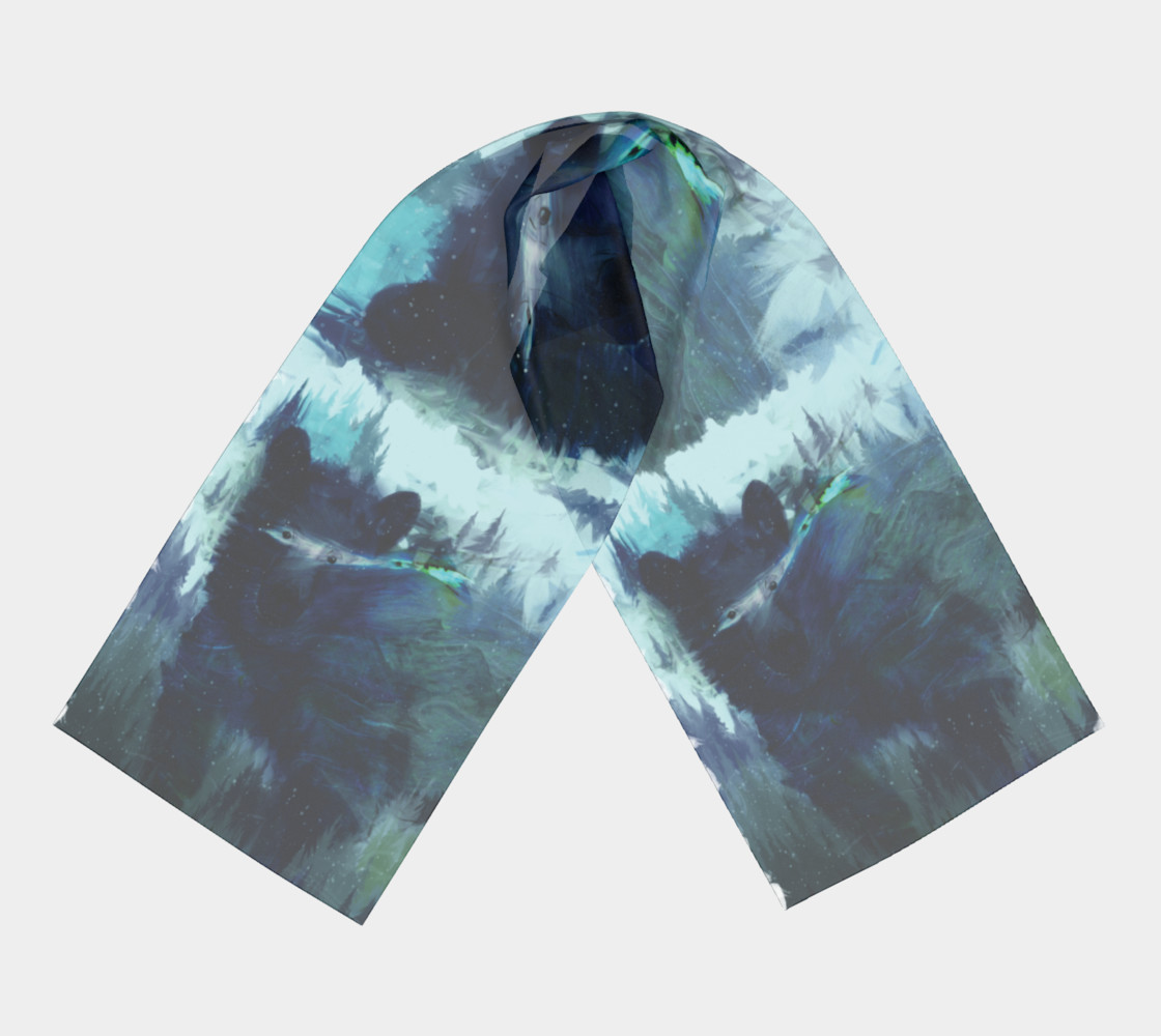 Wandering Presence Bear Scarf preview #3