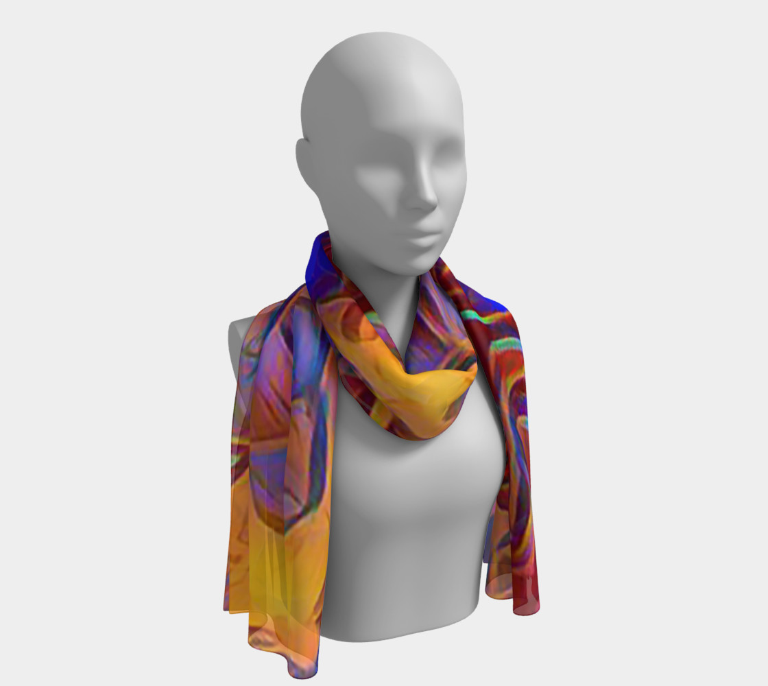 October Afternoon Long Scarf 3D preview