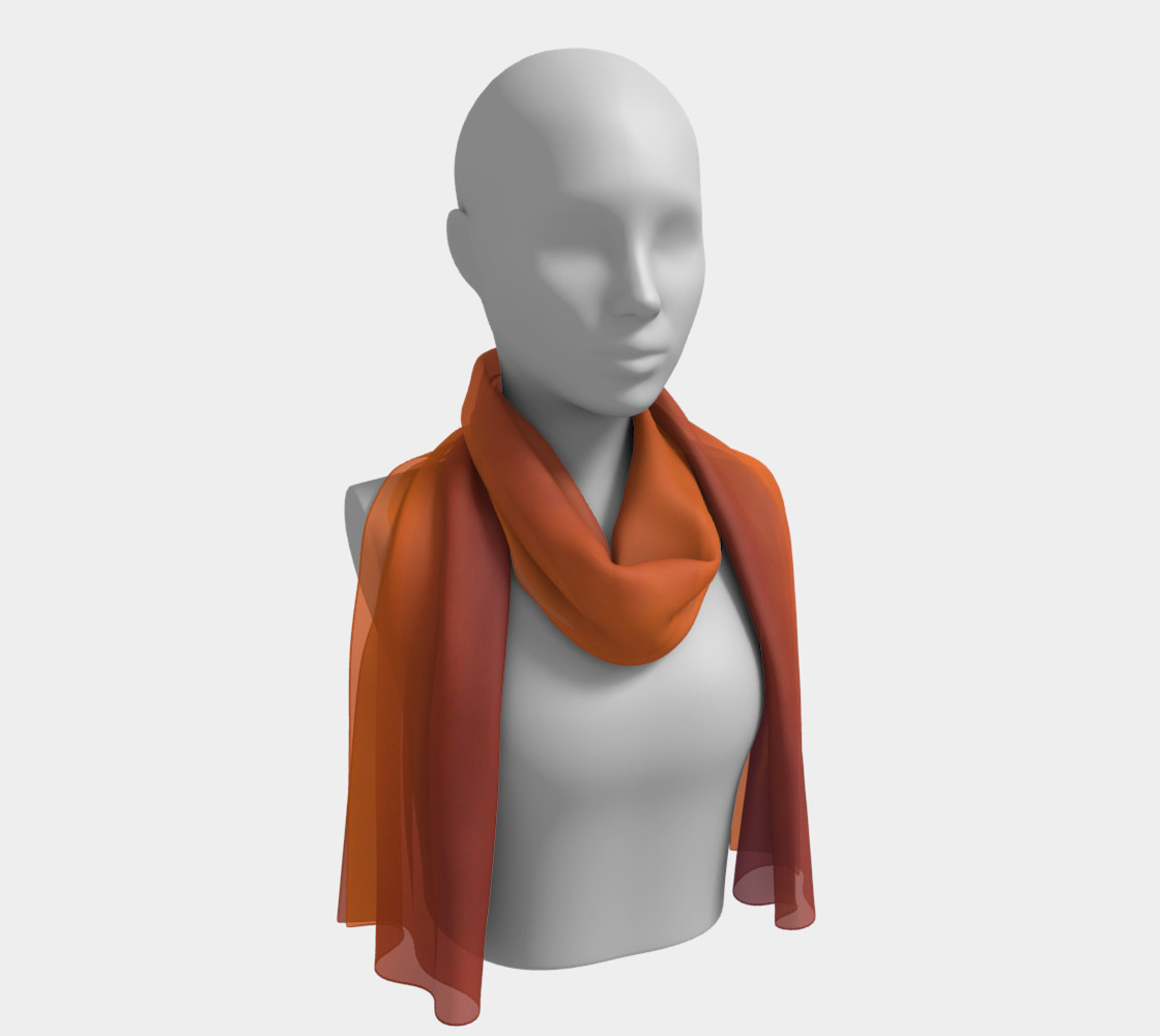 Fall Sky Long Scarf preview #1
