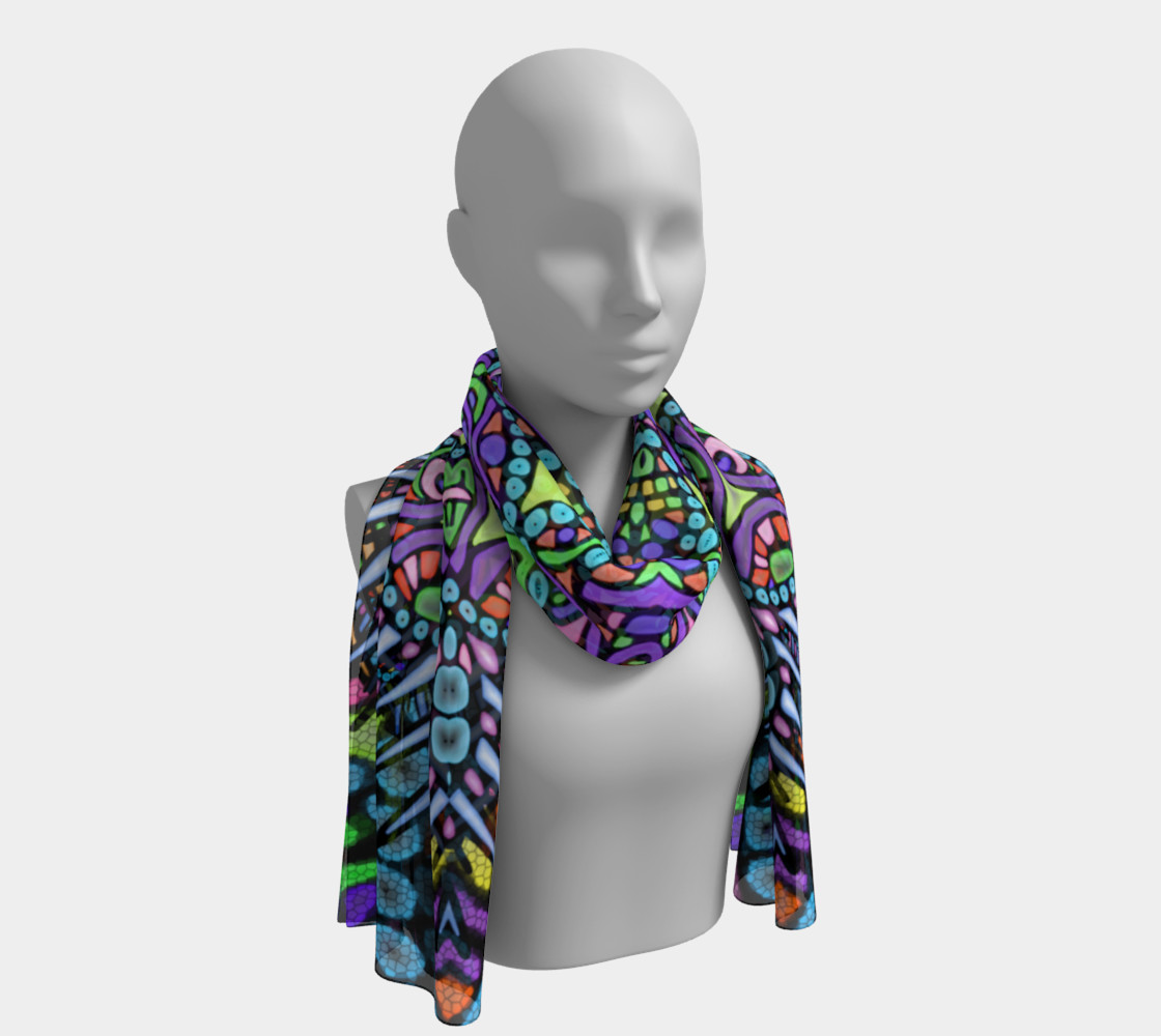 Glass Beads scarf preview #1