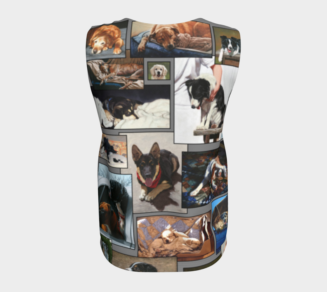 Dogs Loose Tank Top preview #6