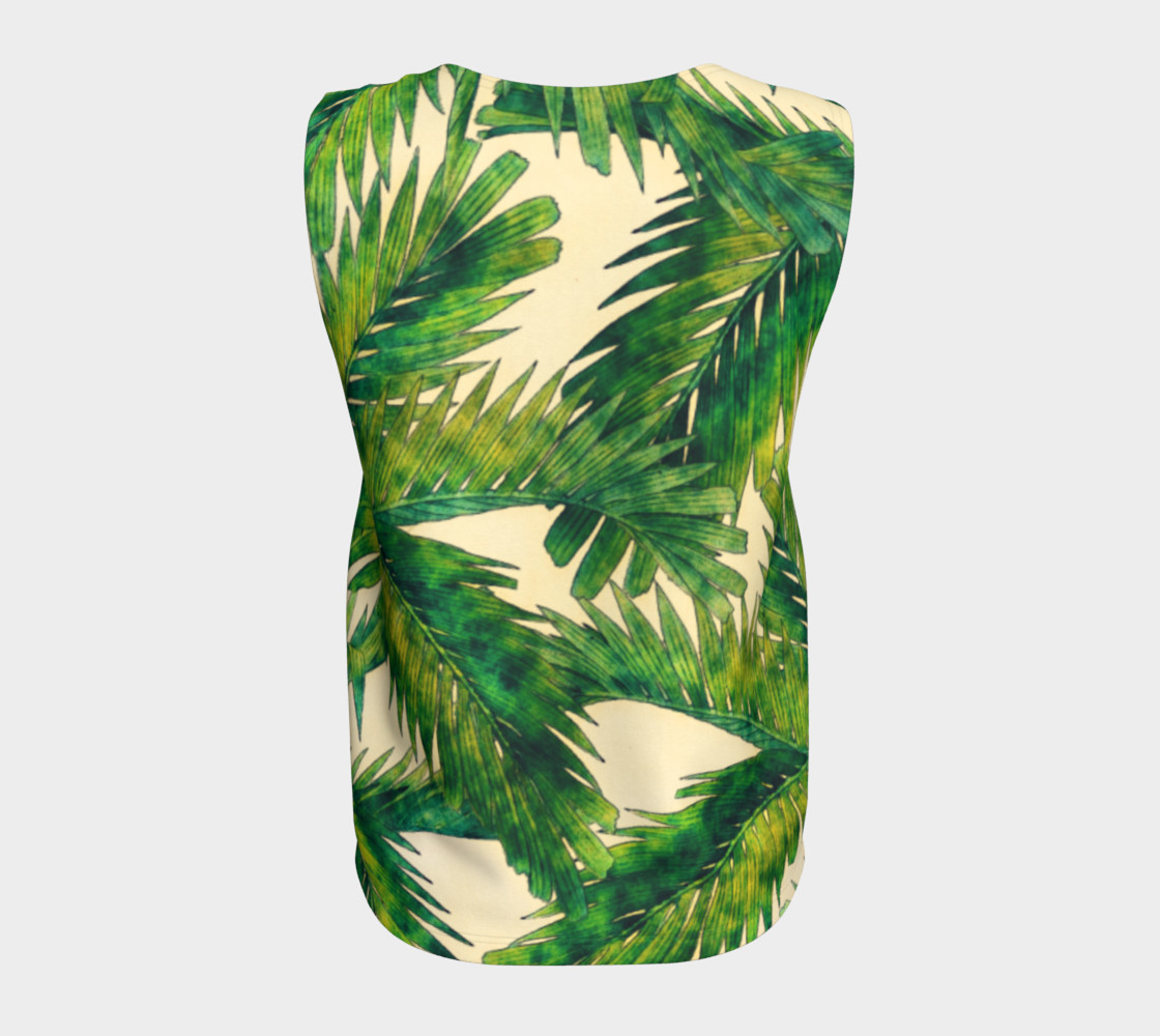 palms loose tank top preview #6