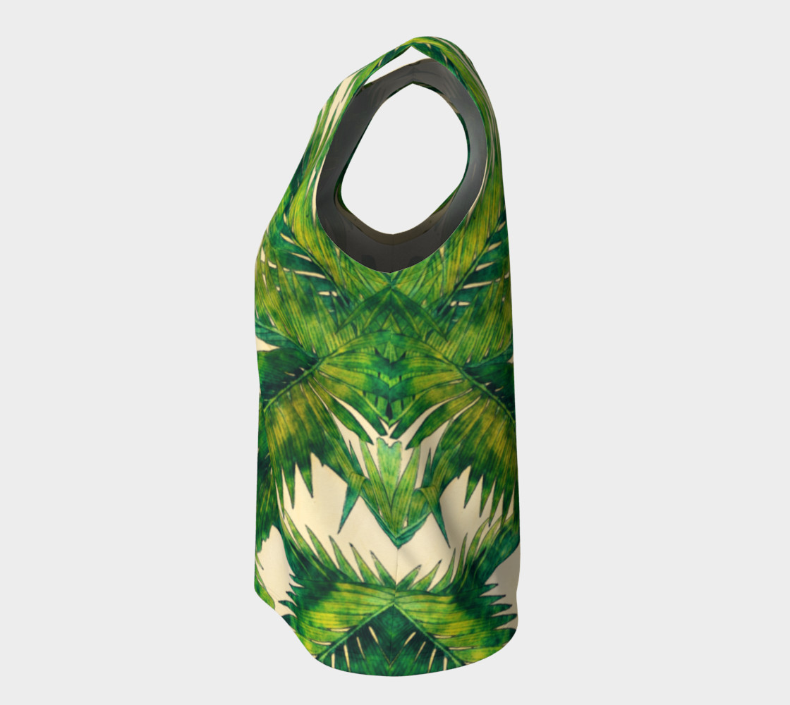 palms loose tank top preview #7