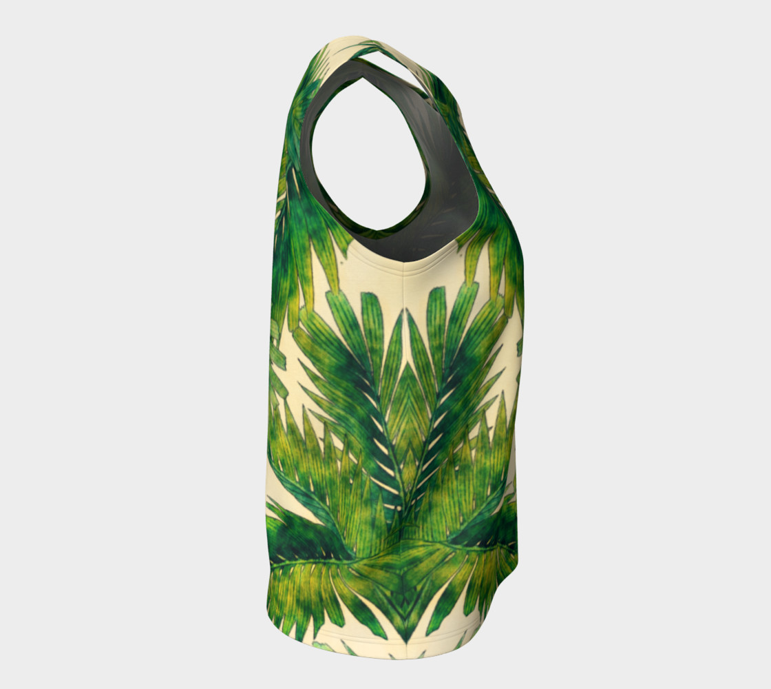 palms loose tank top preview #8