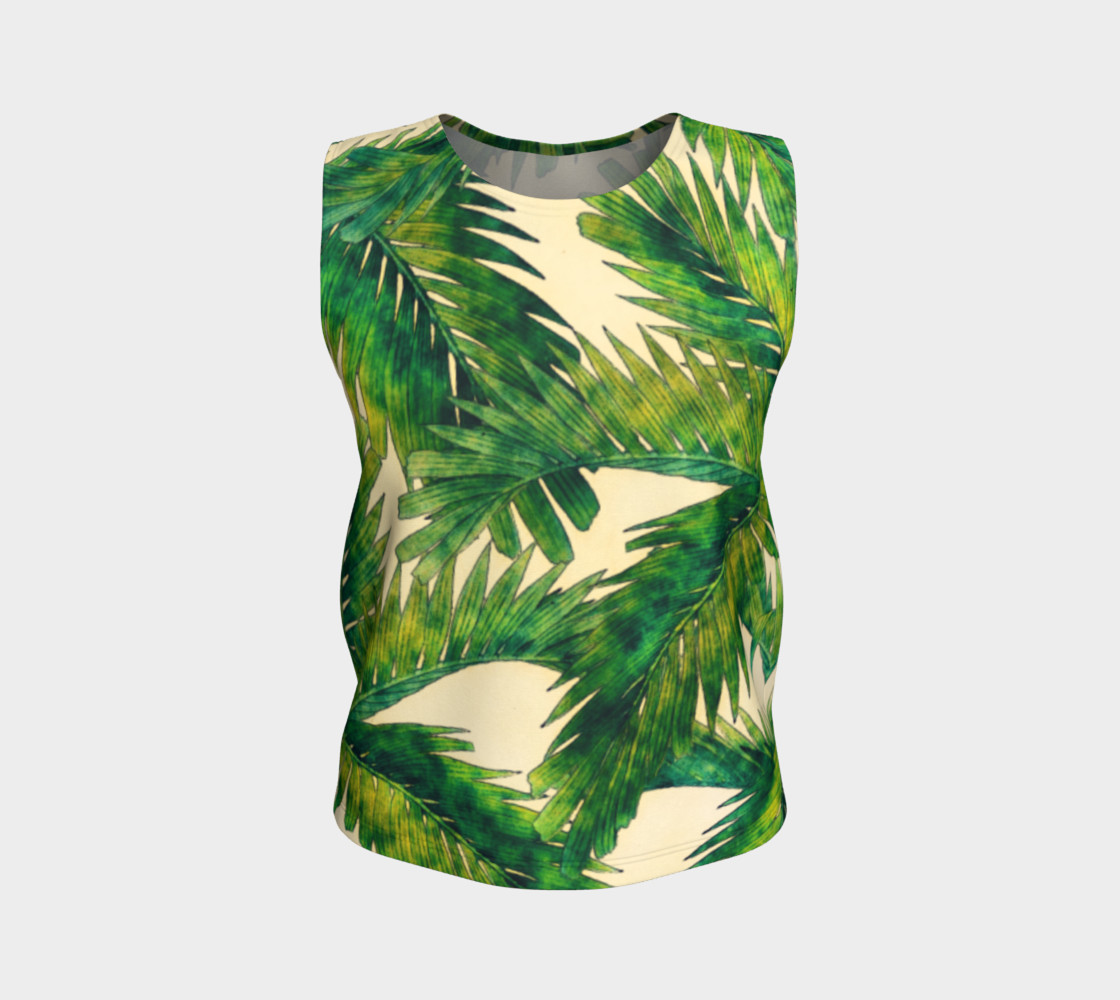 palms loose tank top preview #1