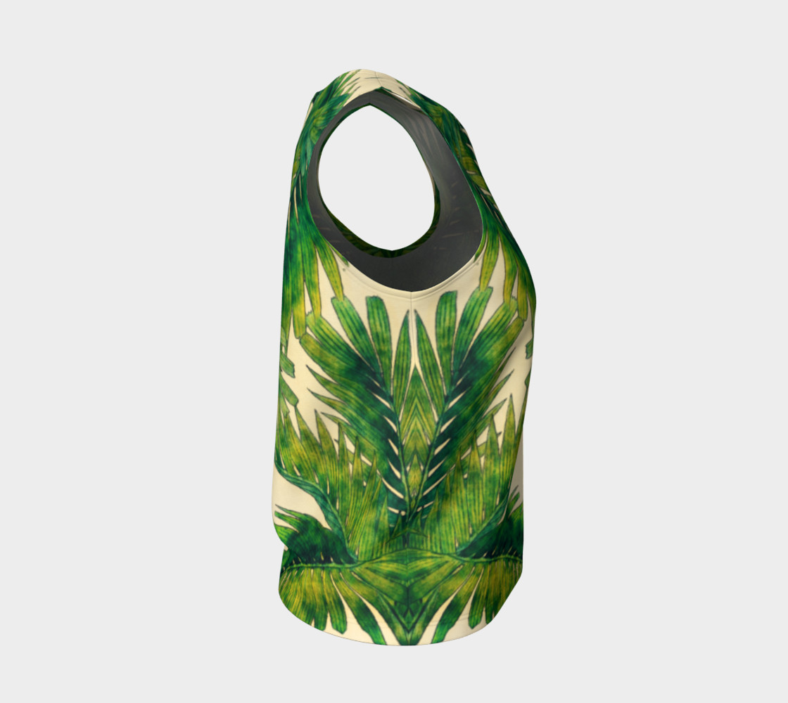 palms loose tank top preview #4