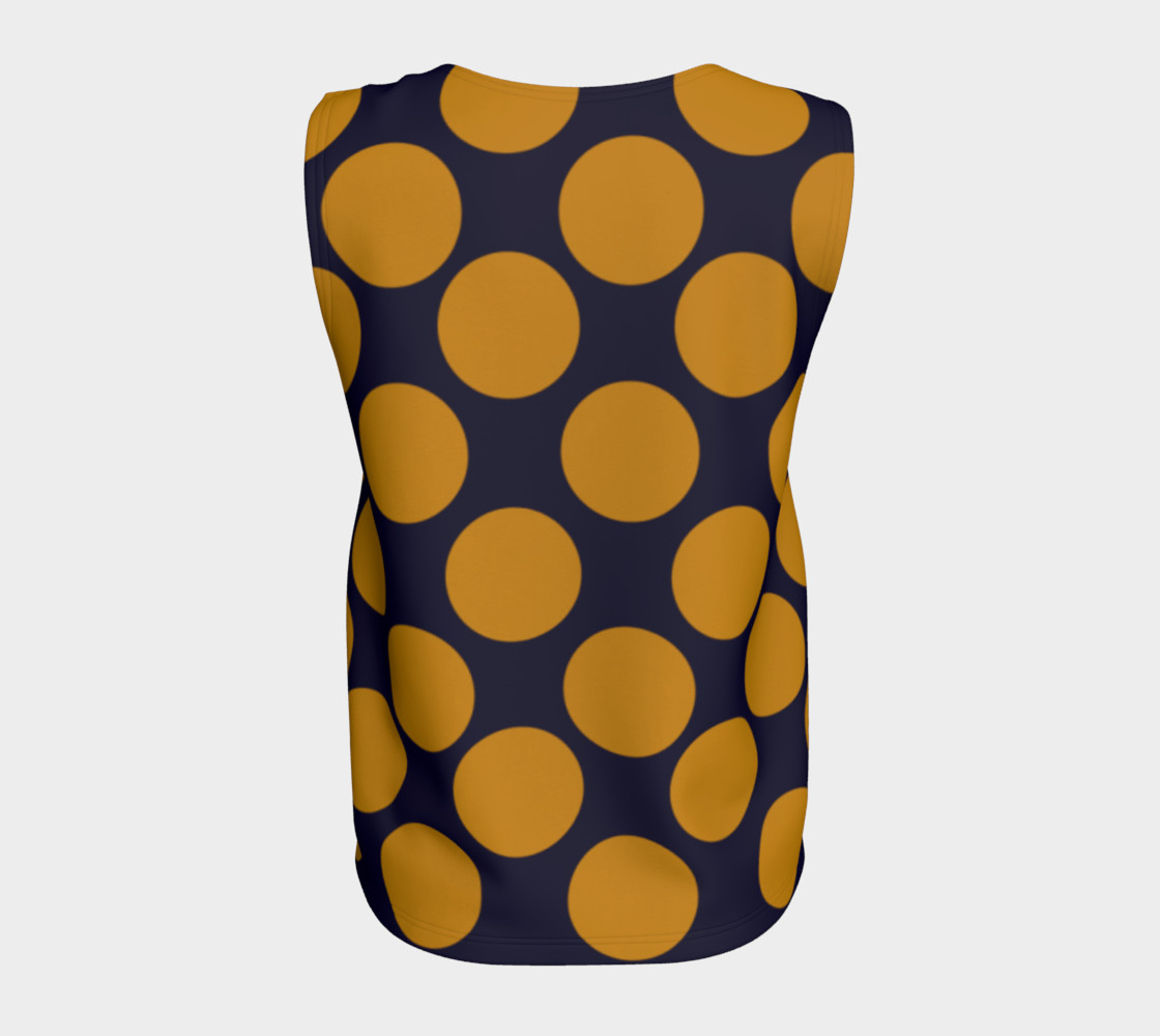 Design top with Dots gold III preview #6