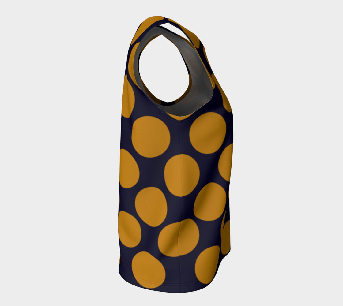 Design top with Dots gold III preview #8