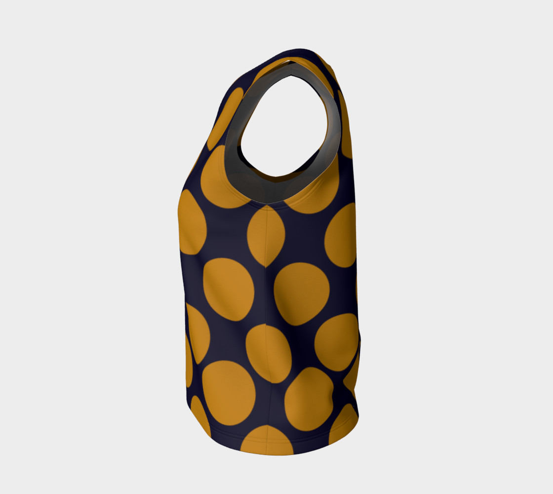 Design top with Dots gold III preview #3