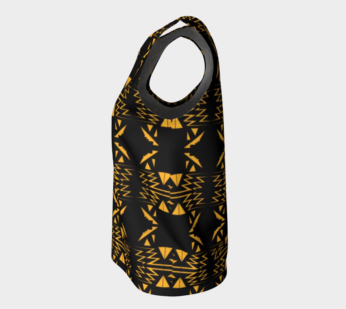 Designers top black gold Vintage Ornam. preview #7