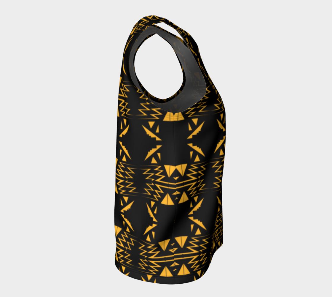 Designers top black gold Vintage Ornam. preview #8