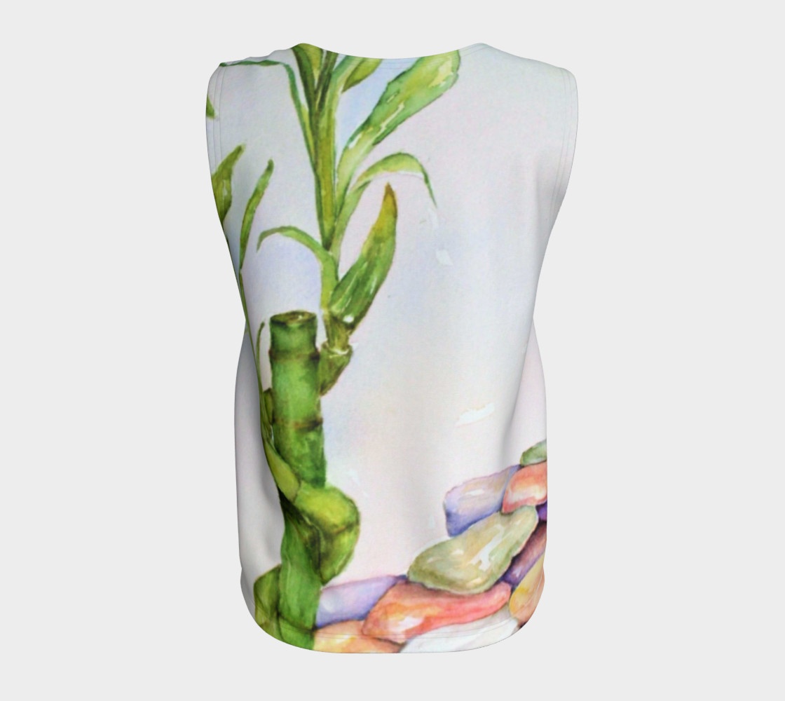 Watercolor Lucky Bamboo Stalk preview #6