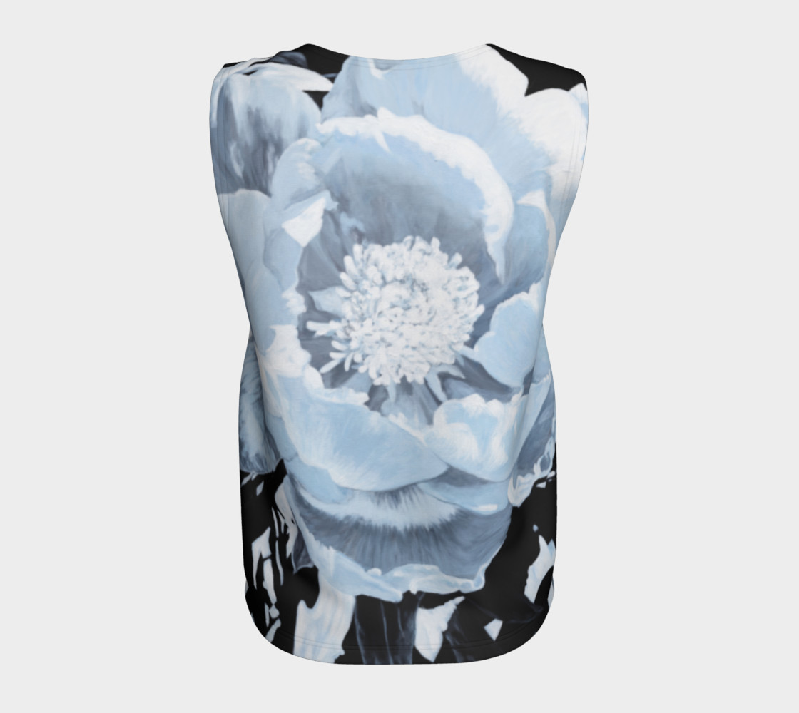"Aperçu de ""A Peony For Your Thoughts"" Loose Tank Top #6"