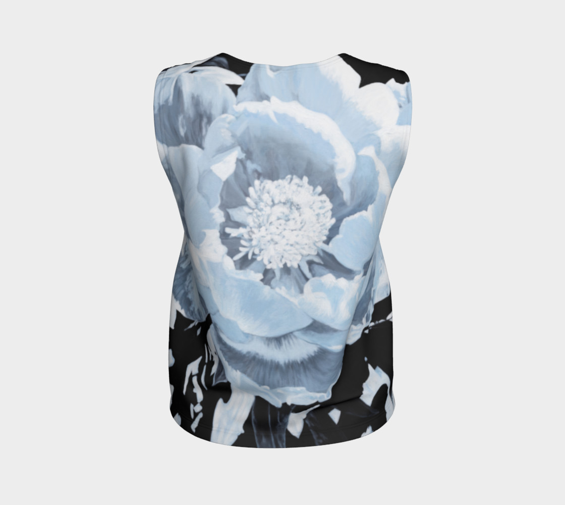 "Aperçu de ""A Peony For Your Thoughts"" Loose Tank Top #2"