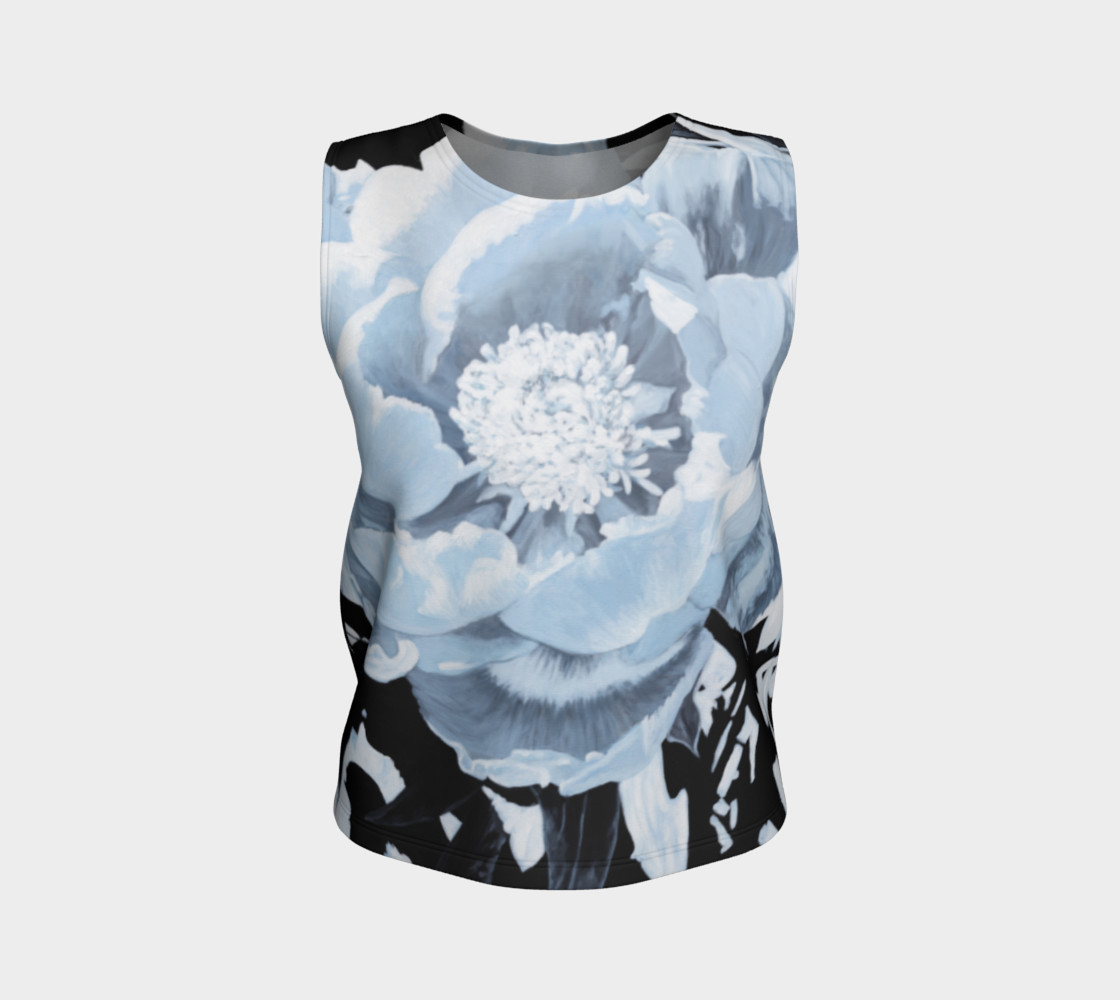 "Aperçu de ""A Peony For Your Thoughts"" Loose Tank Top #1"