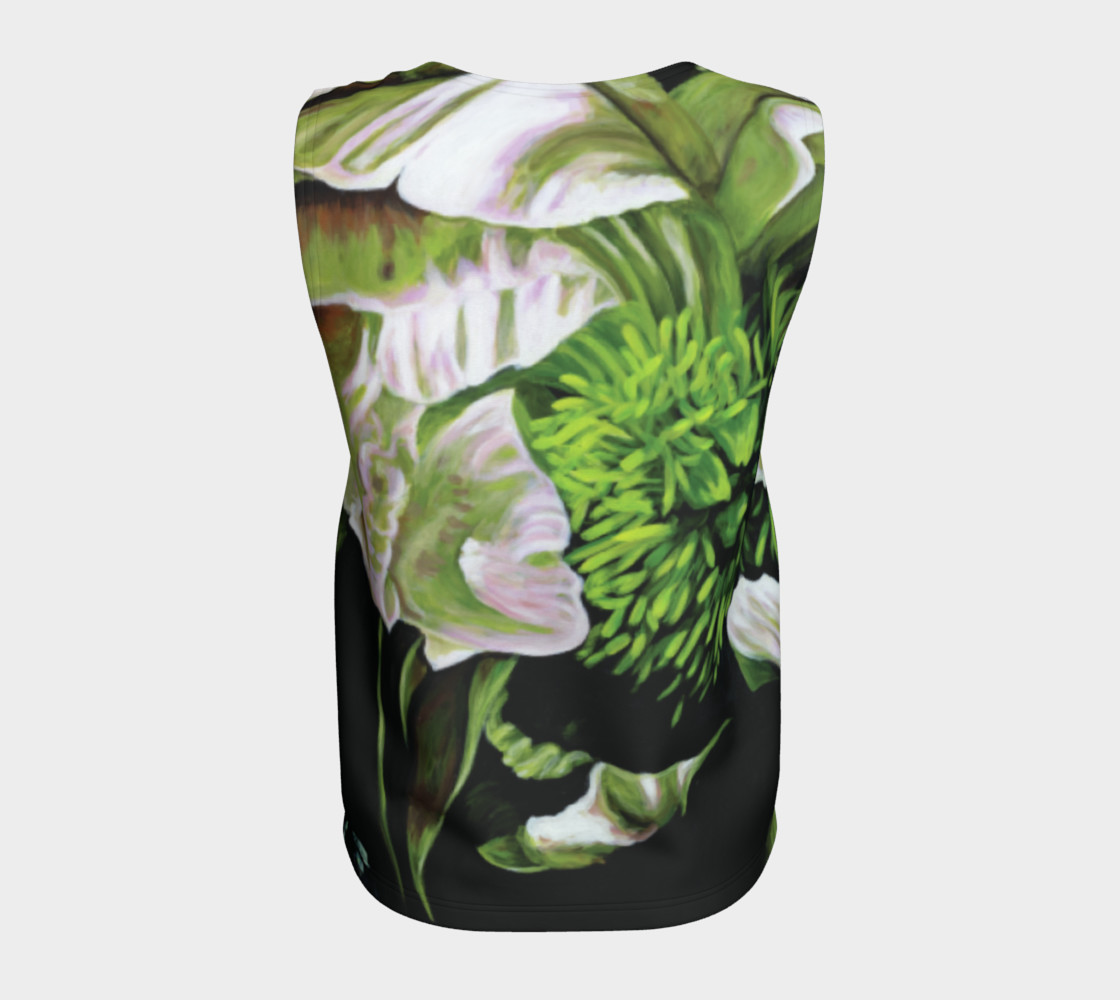 Peony Ride Loose Tank Top Miniature #7