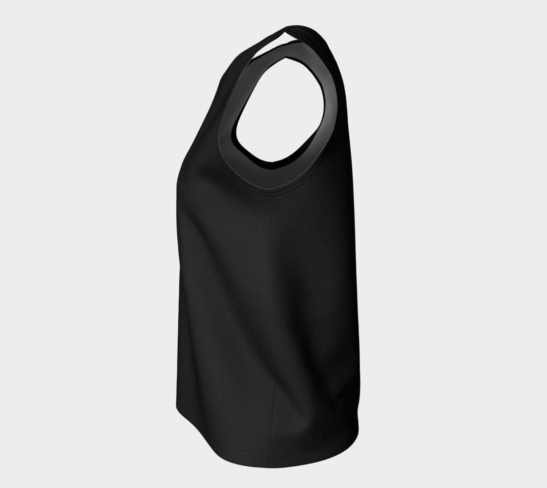 Charcoal | Loose Tank Top preview #7