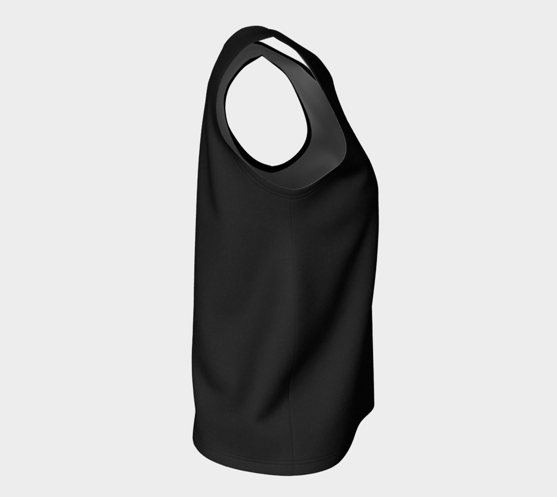 Charcoal | Loose Tank Top preview #8