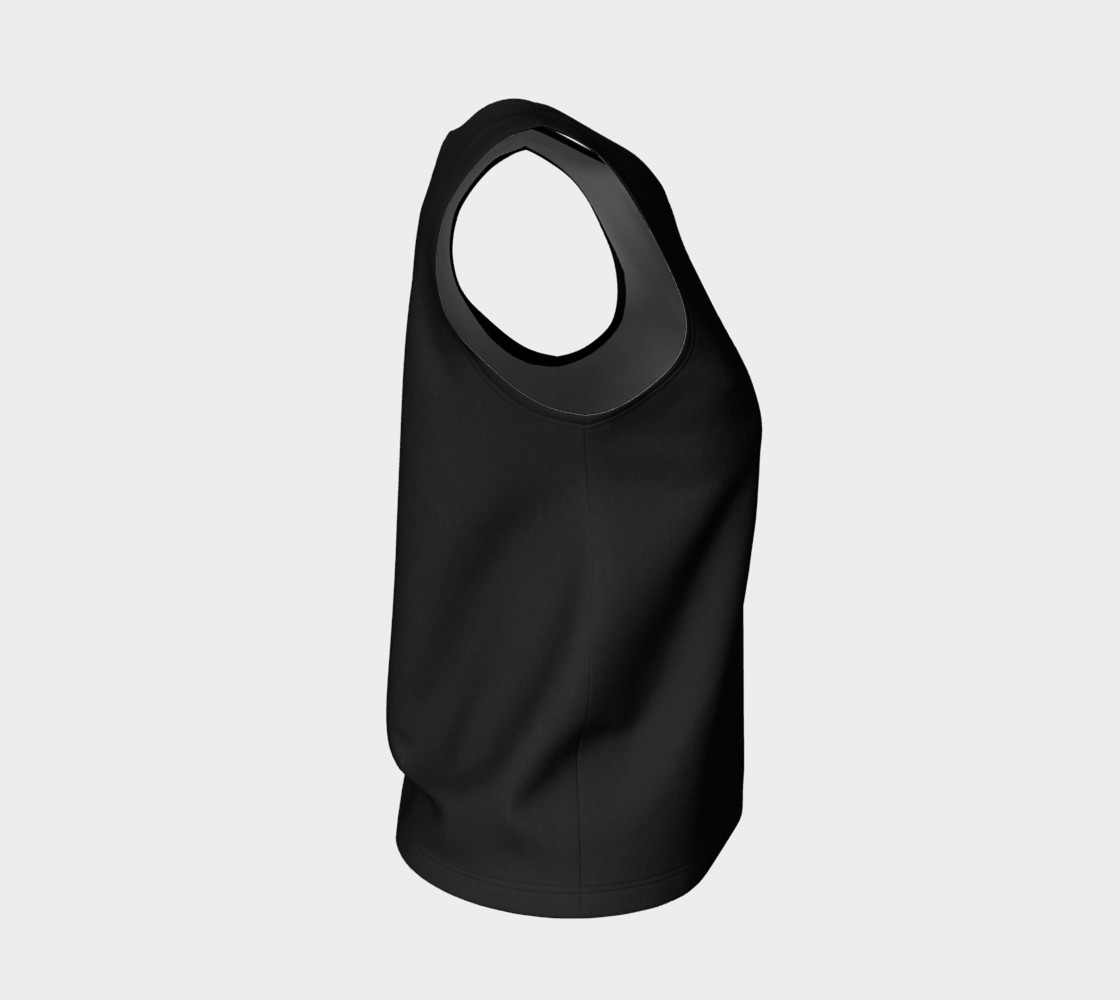 Charcoal | Loose Tank Top preview #4