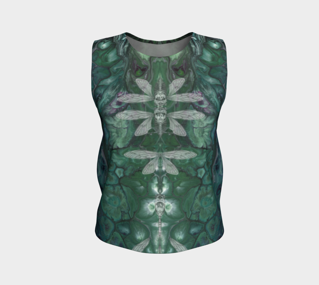 Meta Cicada Loose Tank Top preview #1