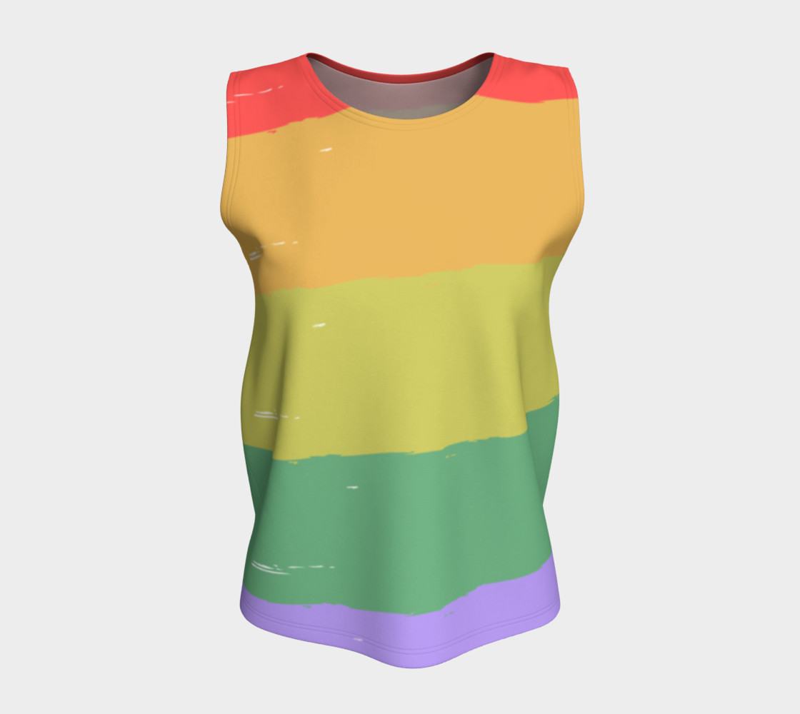 Diversity loose tank top preview #5